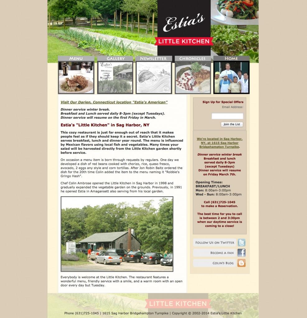 Estia's Little Kitchen in Sag Harbor, NY