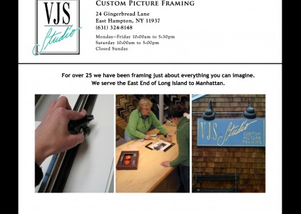 VJS Studio Framer in East Hampton