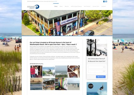 Island Surf Shop in Westhampton Beach