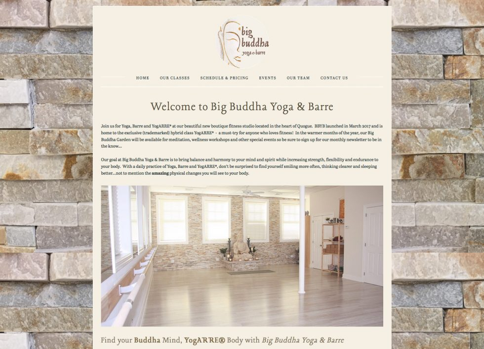 Big Buddha Yoga & Barre Studio