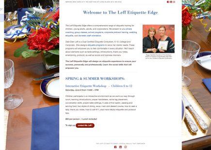 The Leff Etiquette Edge
