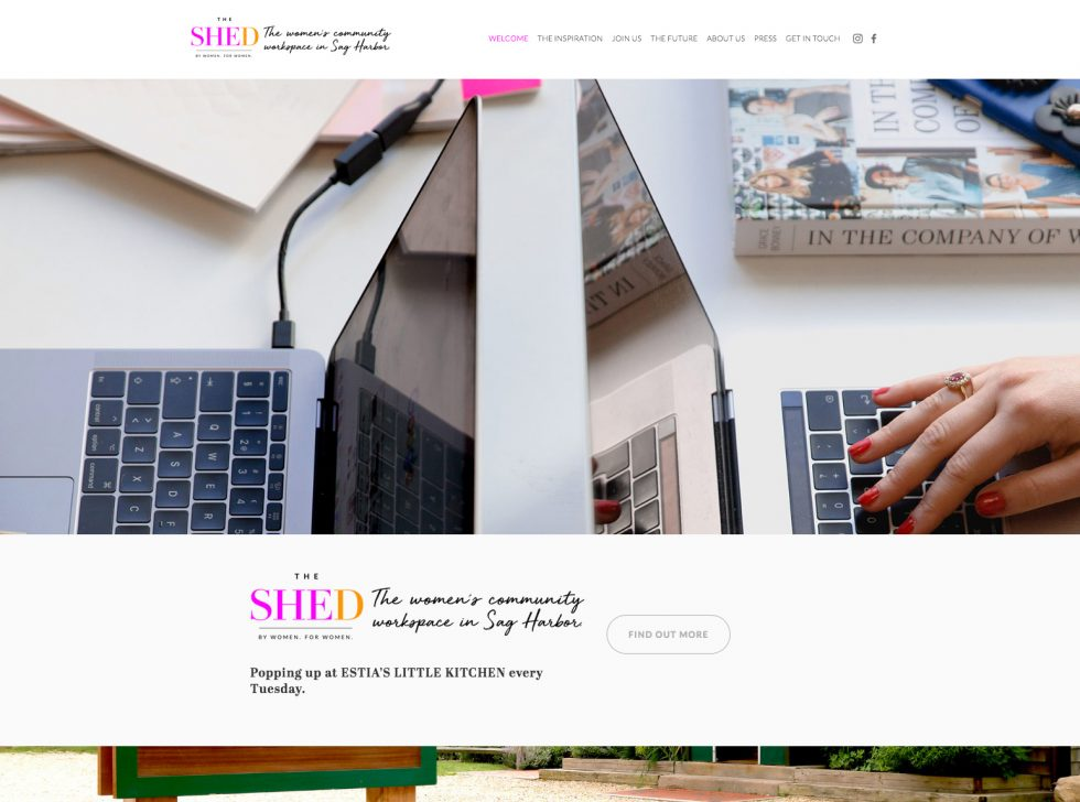 The SHED | community workspace in Sag Harbor for women
