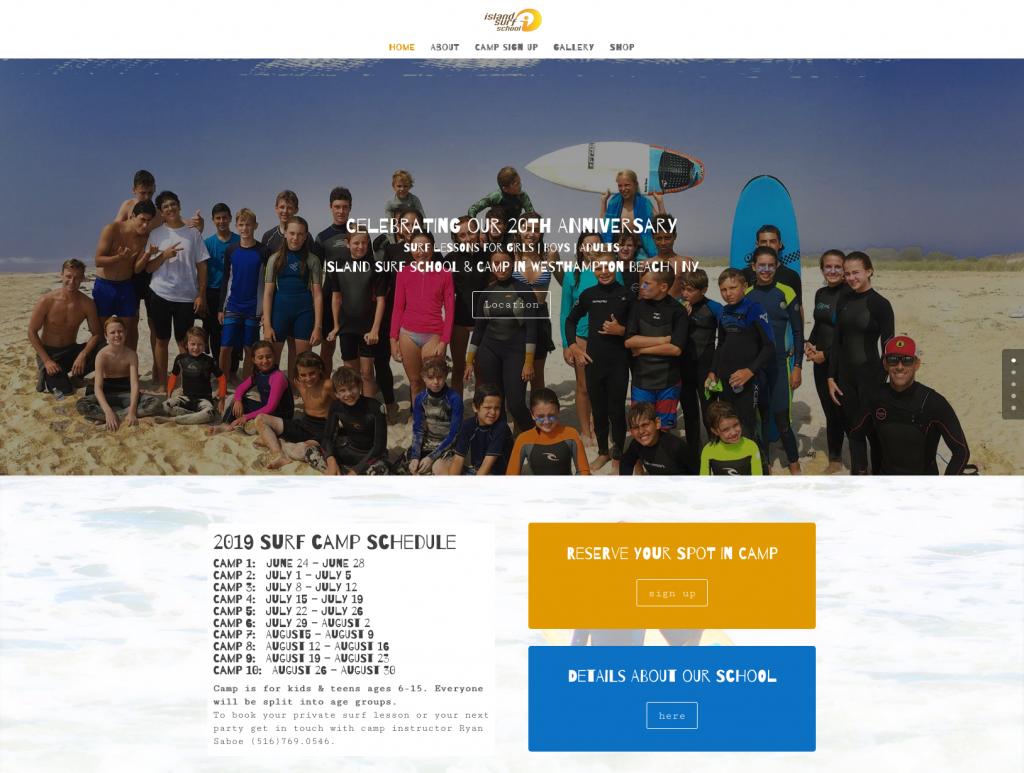 Island Surf School WHB