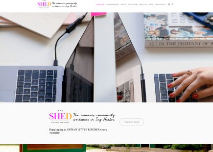 The SHED workspace for women